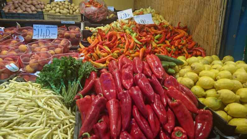Typical vegetables used in Hungarian cooking